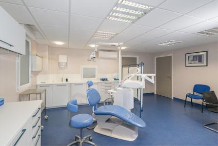 Salle de soins de stomatologie
